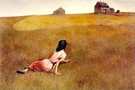 """Christina's World"" by Andrew Wyeth"